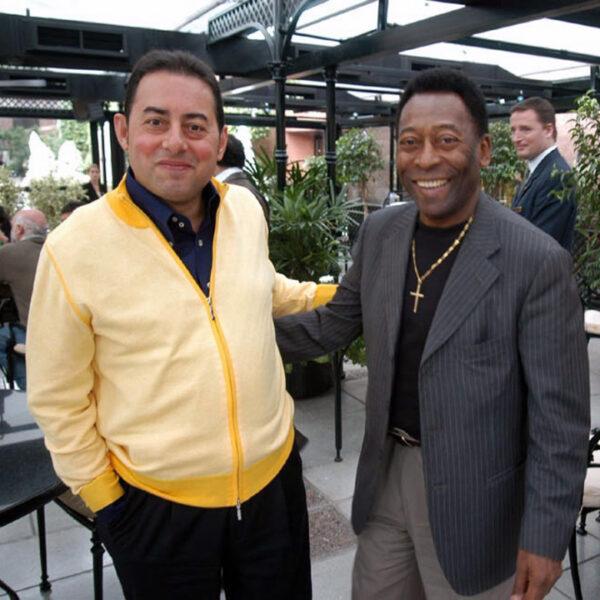 Gianni Pittella con Pelè